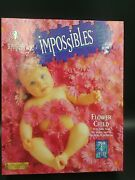 Impossibles Flower Child Puzzle By Bepuzzled Art By Anne Geddes 750 Pieces +