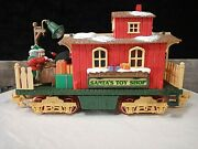 Santa's Toy Shop New Bright Holiday Express Animated Electric Train Car