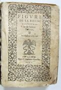 1577 Illustrated Figures Of Bible 400+ Engravings Antique Biblia 16th Century