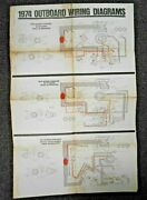 Vintage 1974 Johnson Outboard Wiring Diagrams Models 50 70 85 115 135 Hp