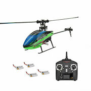 Rc Helicopter Rtf Wltoys V911s 2.4g 4ch 6-axis Gyro Flybarless W/ 4pcs Batteries