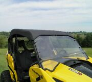 Hard Windshield And Roof For Can Am Maverick - Soft Top - Heavy Duty - Commercial