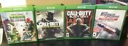 Lot Of 4 Xbox One Nfs Rivals Plants Vs Zombies Cod Infinite And Black Ops Iii