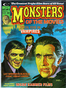Marveland039s Monsters Of The Movies 3 In Nm- A 1974 Marvel Magazine Vampire Issue