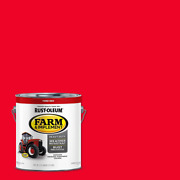 Farm Equipment Implement Paint Gallon Ford Red [2-pack] Gloss Enamel