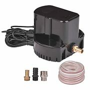 Pool Cover Pump Above Ground Submersible Sump Pump 1200 Gph 1/6 Hp 110v