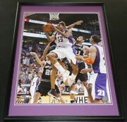Amare Stoudemire Signed Framed 16x20 Photo Poster Phoenix Suns Knicks