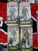 Mcfarlane The Walking Dead Action Figures Comic Book Series 5 Complete Set Of 4
