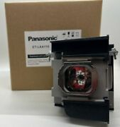 Original Panasonic Lamp And Housing For The Pt-ar100u Projector - 1 Year Warranty