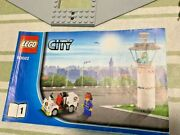 Lego City Air Cargo Terminal 60022 Airplane Retired Used From Japan