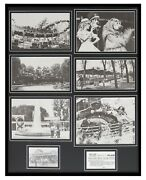 Kennywood Park Pittsburgh Amusement 1970s Framed 16x20 Photo Collage Display