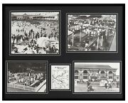 Kennywood Park 1930s Pittsburgh Amusement Framed 16x20 Photo Collage Display