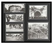 Kennywood Park Pittsburgh Amusement Framed 16x20 Photo Collage Display