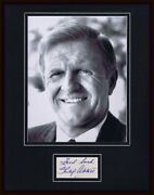 Philip Abbott Signed Framed 11x14 Photo Display The Fbi The Invisible Boy