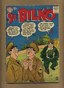 Sergeant Bilko 1 G Dc Comics 1957 Phil Silvers Tv Armed Forces Comedy C11502