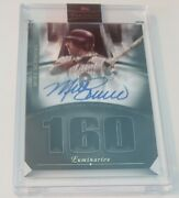2021 Topps Luminaries Mike Schmidt Hit Kings On Card Auto 1/1