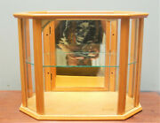 Vintage Signed Bulova 8 Sided Octagon Jewelry Store Display Case Watch Clock