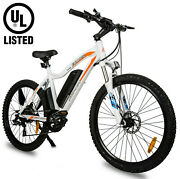 Ecotric 26 500w 36v 12.5ah Mountain Beach City Electric Bicycle Ebike New Ul