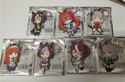 Horse Daughter Trading Rubber Keychain All Types Set