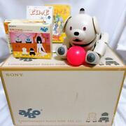 [rare Item] Sony Sony Aibo Latte Ers-311 Robot Best Offer Dhl Free Shipping