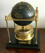 Imhof Royal Geographical Society World Clock 8 Days Clock - Not Lecoultre
