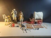 Group Lone Ranger Action Figure Playsets And Accessories Marx Gabriel