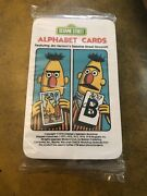 Vintage 1978 Whitman Sesame Street See And Know Alphabet Cards Featuring Muppets