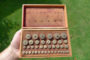 Fine Vintage Watchmakers Lathe Bow/turns Turning Arbours/ferrules Repairer Tools