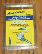 A-zoom Snap Caps Dummy Rounds. 17 Mach 2 6 Pack. New