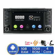 For Vw Touareg 7 Double 2 Din Android 9.1 Car Radio Gps No Dvd Player With Mic