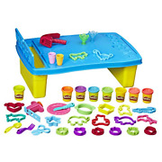 Play-doh Play 'n Store Kids Table 8 Non-toxic Compounds And 25 Tools