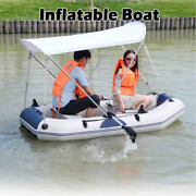 Inflatable Boat Water Pvc Wear-resistant 230cm/7.5ft 2-4person Sports Warehouse