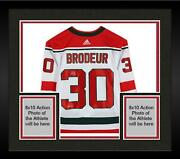 Frmd Martin Brodeur Nj Devils Signed White Authentic Jersey And Hof 2018 Insc