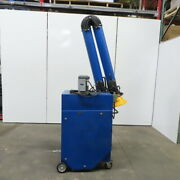 10' Arm Portable Air Cleaner Weld Laser Torch Fume Collector 115v Single Phase