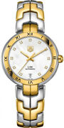 New Tag Heuer Link Mother Of Pearl Dial Two-tone Women's Watch Wat2351.bb0957