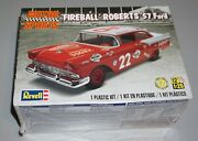 Fireball Roberts And03957 Ford Revell 1/25 Factory Sealed.