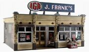 Woodland Scenics Built And Ready J.frank's Grocery O Scale Building Led Lighting
