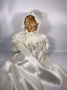 1940s-1950s Antique Porcelain Doll May Be Haunted Halloween Decor Collectible