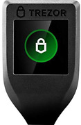 Trezor Model T - Crypto Hardware Wallet With Lcd Color Touchscreen Usb-c Bitcoin