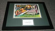Barbara Rush Signed Framed It Came From Outer Space 16x20 Poster Display