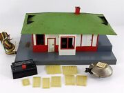 American Flyer, No. 755, Talking Train Station – Mystic - S Scale Vintage