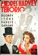 Love Finds Andy Hardy / Judy Garland / 1938 / B. Seitz / Movie Poster/39