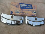 Wilco Twin Exhaust Deflectors For All Ford Cars With Exhaust Outlets 1950and039s
