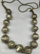 Ancient Harar Antique Necklace Pendant Jewelry Alloy Silver Women's Ethiopia Old
