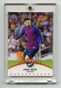 5 Lionel Messi Completed Rainbow In Order 1/1, 2/5, 3/10, 4/25, Base