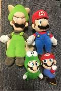 Mario And Luigi + Lot Of 2 Plush Toy Shipped From Japan