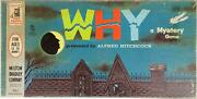 Mtb Boardgame Alfred Hitchock Presents - The Game Of Why 1962 Ed Fair