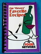 1995 Tv Food Network Our Viewers' Favorite Recipe Vintage Cookbook Very Rare