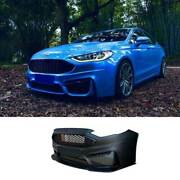 For Ford Mondeo Fusion 2013-20 M Primer Black Front Bumper Bottom Protector 1pcs