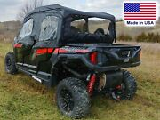 Polaris General 4 Enclosure For Existing Windshield - Doors Roof And Rear Window